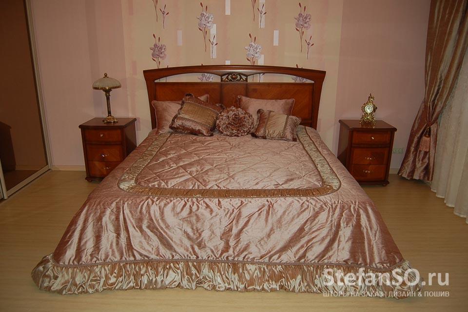 Спальня - ткань натуральный шелк