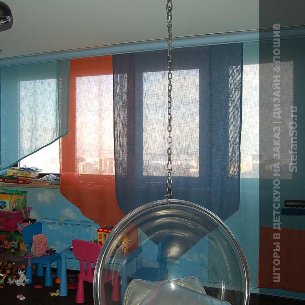 Шторы в детской комнате фото