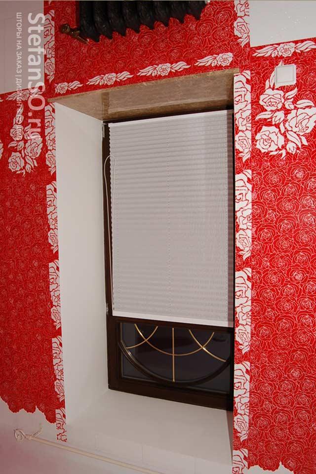 Плиссе шторы декоративные