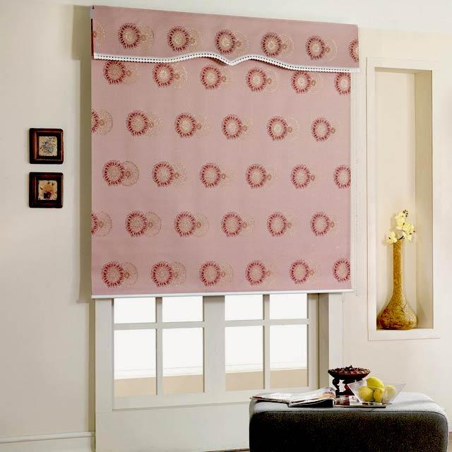 Руллонные шторы из ткани