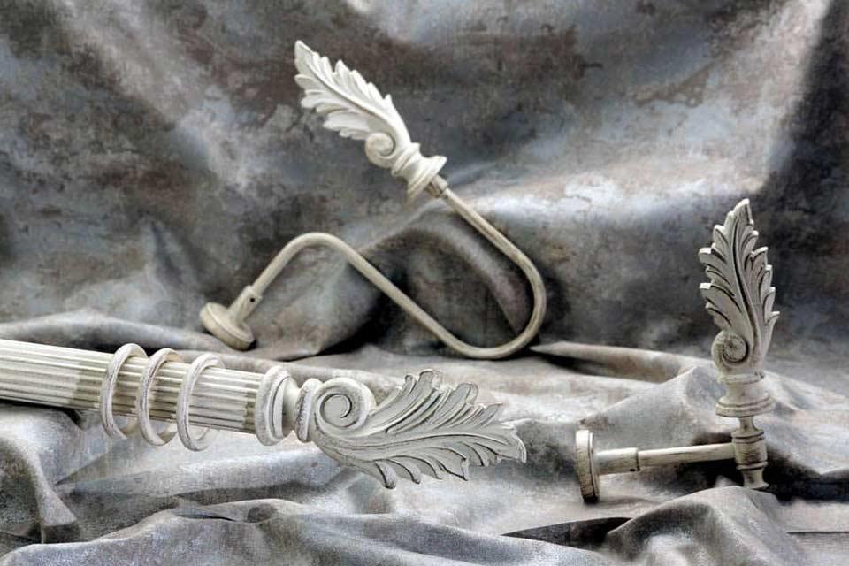 Эклюзивный кованый карниз для штор