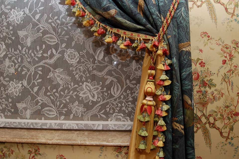 Текстильный дизайн интерьера в Москве