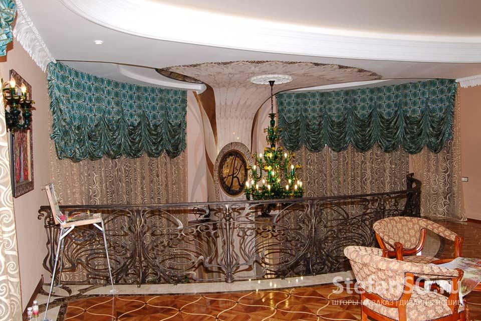 Каминный зал в стиле Модерн