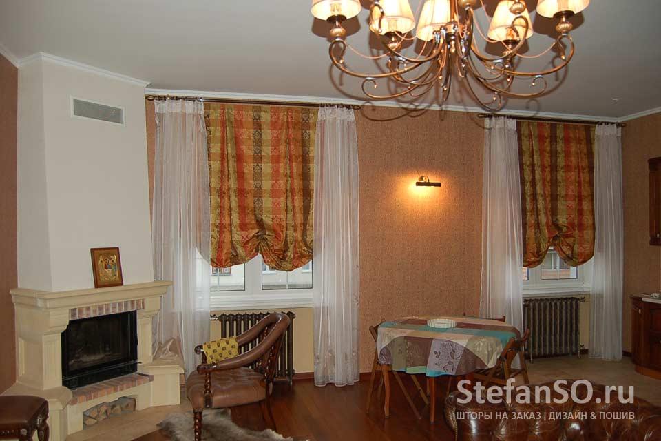 Уют и романтика в гостиной
