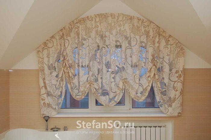 Элегантная австрийская штора