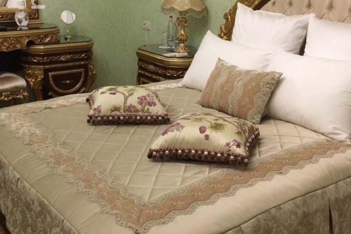 Спальня для юной принцессы, в ЖК Ливадия-Парк - шторы на заказ